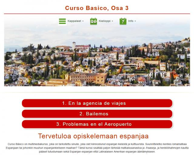 Espanja, Curso Básico, Osa 3