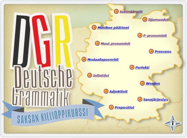 Deutche Grammatik - Saksan kielioppikurssi