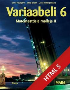 Variaabeli 6 digikirja (ONLINE, 48 kk)