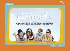 Dime! 1 opiskelijan sähköiset tehtävät ONL