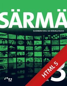 Särmä. Suomen kieli ja kirjallisuus. Tehtäviä 3 digikirja (ONLINE, 48 kk)