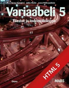 Variaabeli 5 digikirja (ONLINE, 48 kk)