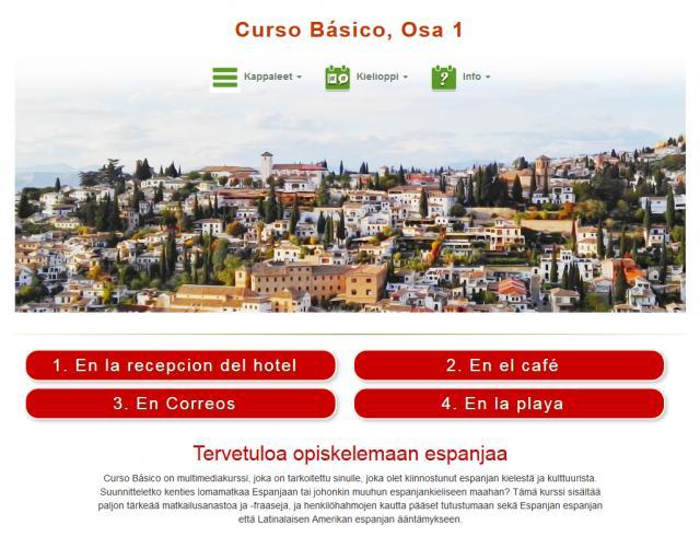 Espanja, Curso Básico, Osa 1