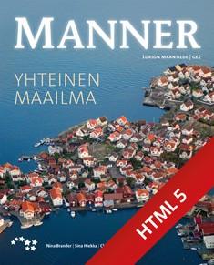 Manner 2 Yhteinen maailma digikirja (ONLINE, 48 kk)