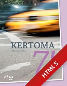 Kertoma 7 Talousmatematiikka digikirja (ONLINE, 48 kk)