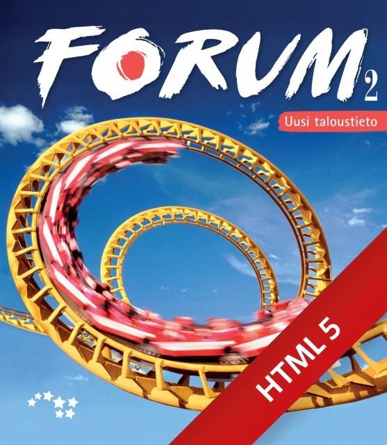 Forum 2 Uusi taloustieto digikirja 6 kk ONL
