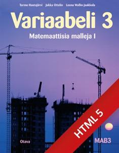 Variaabeli 3 digikirja (ONLINE, 48 kk)
