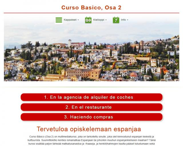 Espanja, Curso Básico, Osa 2