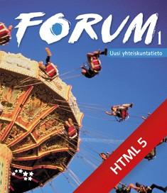 Forum 1 Uusi yhteiskuntatieto digikirja 48 kk ONL