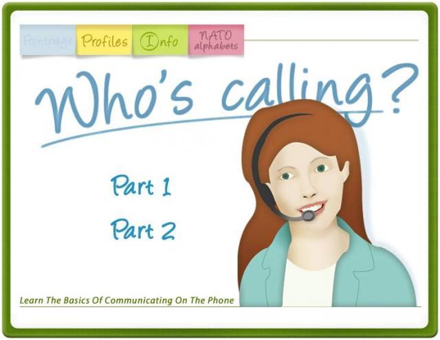 Who's calling? -puhelinenglanti