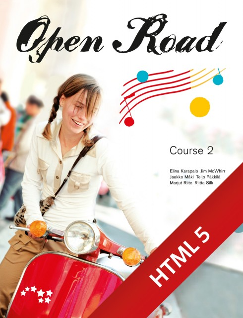 Open Road Course 2 digikirja 6 kk ONL