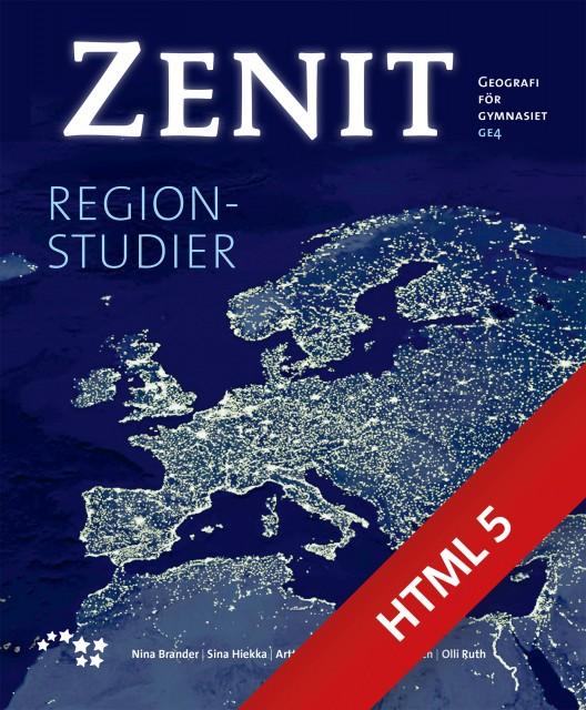 Zenit 4 Regionstudier digibok (ONLINE, 48 mån)