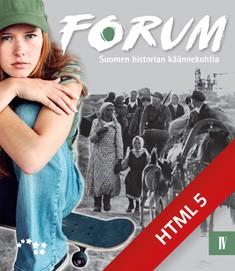 Forum IV Suomen historian käännekohtia digikirja 48 kk ONL