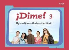 Dime! 3 Opiskelijan sähköiset tehtävät (ONLINE)